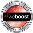 weBoost Reseller Badge
