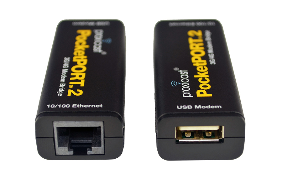 Proxicast PocketPORT 2 3G / 4G LTE HSPA+ Cellular Modem Bridge ...